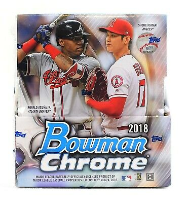 Cristian Pache - Braves 2018 Bowman Chrome Hobby Full Case Break 12 Box 24 Autos