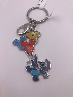 D23 Disney Expo 2019 Dream Store: Balloon Collection: Stitch Keychain (AAA)