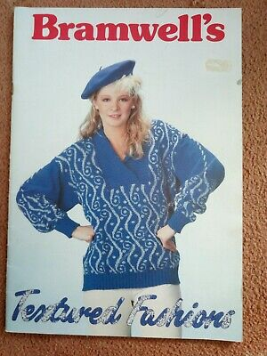 Bramwells Textured Fashions..20 parts ..m/knitting