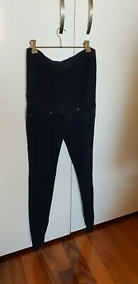 H&M Mama Super Skinny Maternity Jeans dark blue Size 6 (will fit size 8-10)