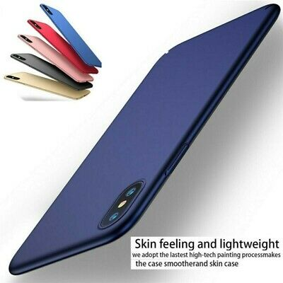 Moda ULTRA Slim Thin Sottile Paraurti BACK CASE COVER PER IPHONE XS MAX XR 8 7 6