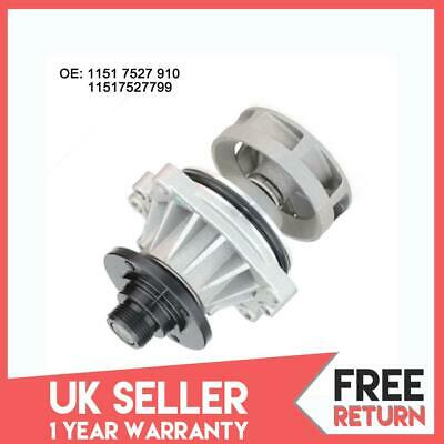 Water Pump Pulley fits BMW 520 E39 2.0 96 to 98 11511730554 11511722567 Febi New
