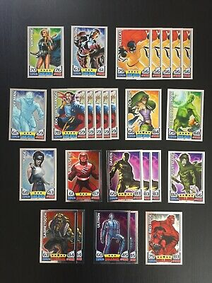 2011 Hero Attax - Series 1 (Marvel Universe) 26 Mirror Foil Trading Cards Topps