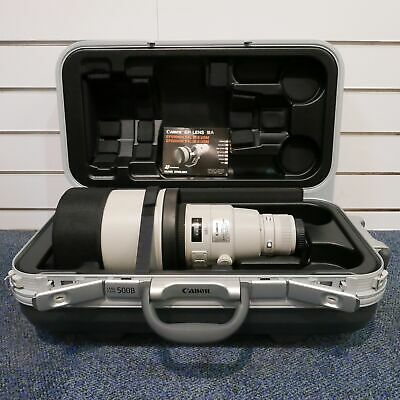 Used Canon EF 500mm f4 L IS USM II Lens - 1 YEAR GTEE