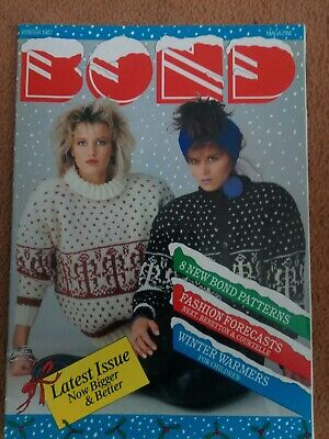 BOND Knitting Magazine..winter 1987
