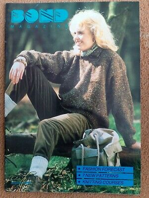 BOND Knitting Magazine..Autumn 1989..no.21