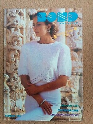 BOND Knitting Magazine Summer 1990..no.24