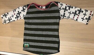 Oishi-m Boys Long Sleeve Tee Size 9-12months