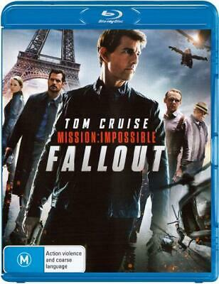 Mission Impossible - Fallout : NEW Blu-Ray
