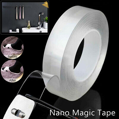 Clear Magic Tape Washable Adhesive Tape Double-sided Nano Invisible Gel Tape Hot