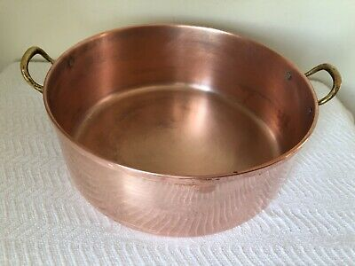 Copper Stock Pot 4-Quart Tagus Chef Made in Portugal