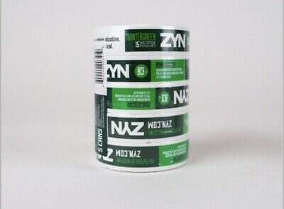 Zyn Nicotine Pouches Wintergreen 6 Mg Log/roll/5 Cans