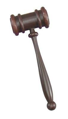 Gavel (Judge's Hammer),   Fancy Dress Accessory, Courtroom #IE