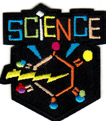 MATH SCIENCE FUN Iron On Patch School Learning