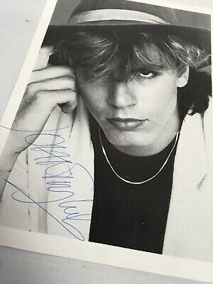 Duran Duran John Taylor Hand Signed Picture