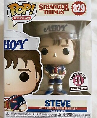 NEW Damaged Box Stranger Things Baskin Robbins Exclusive Steve Funko POP! #829