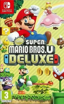 Super Mario Bros U Deluxe, Nintendo Switch, neuf Sous Blister, Version française