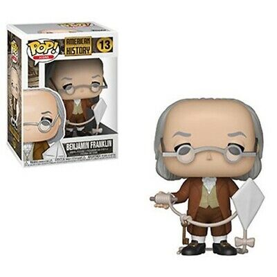 Funko Pop! Icons #13 - American History - Benjamin Franklin Ships In Stock