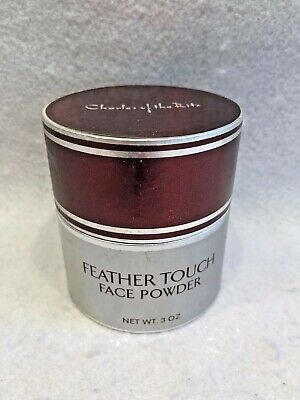 Charles of the Ritz Feather Touch Face Powder 3 Oz. Vintage Sealed