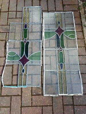 Job Lot of leaded glass for repairs or projects etc