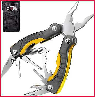 Mini Utility Multitool W Knife & Pliers Best SMALL Multi Purpose Tool All In One