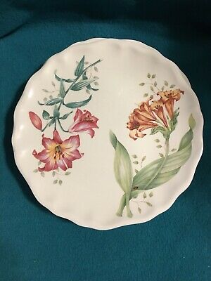 Lenox Butterfly Meadow Melamine Accent Luncheon Plates Set Of 4