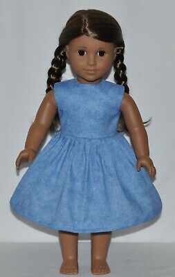 Blue Mist Doll Dress Clothes Fits American Girl Dolls