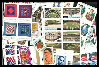 U.s. Discount Postage Lot Of 100 34¢ Stamps, Face $34.00 Selling For $23.75