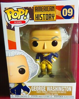 "Brand New Pop ""Icons"", #09, American History, ""George Washington   In Hand"