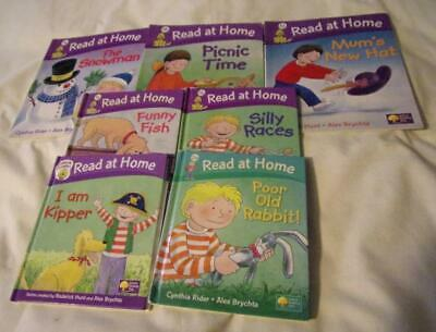 Set of 7 Read at Home series books by Oxford