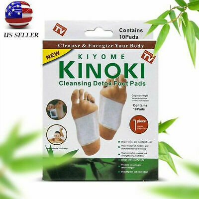 10 Cleansing Detox Foot Pads Patches As Seen On Tv Kiyome Organic