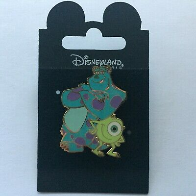 Disneyland Paris Monsters Inc Mike Sulley Leaning On Each Other Disney Pin 10034