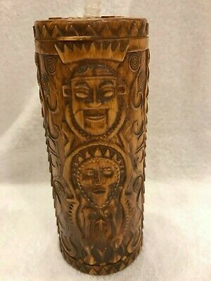 Disney World - Trader Sam's Grog Grotto Polynesian Tiki Sipper/Tumbler/Mug - NEW