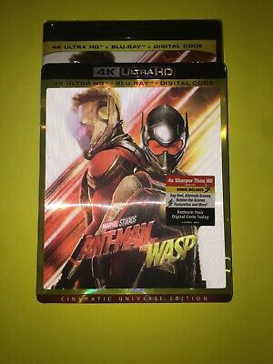 Antman And The Wasp 4K Ultra Hd & Bluray & Digital