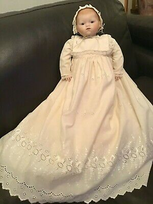 Vintage Antique Reproduction Handmade Porcelain Doll