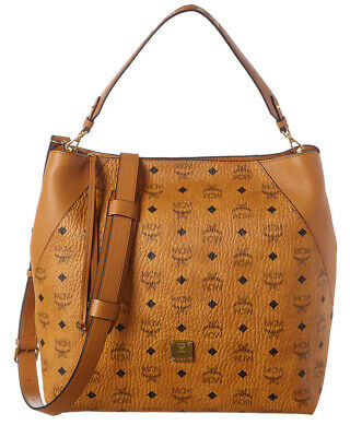 MCM KLARA LARGE Visetos Hobo Women's Brown EUR 479,33