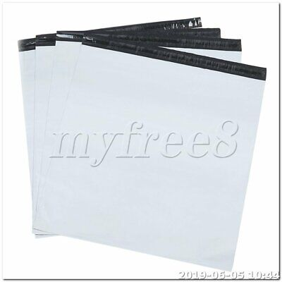100pcs 30 x 50cm Waterproof Envelopes Shipping Bags Poly Mailers white