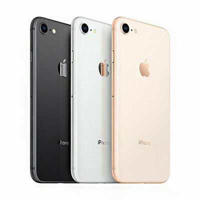 Apple iPhone 8 64GB 256GB Unlocked Smartphone 12M WARRANTY UK Stock