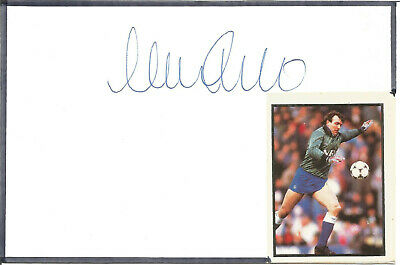 Neville Southall Football Autograph Everton & Wales Signed Card F1636