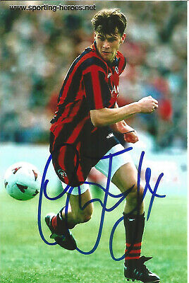 Duncan Ferguson Football Autograph Everton & Scotland Signed Photograph F1637