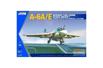 Kinetic K48034 1/48 A-6A/E Intruder Twin-engine Attack Aircraft