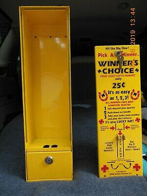 VINTAGE WINNER'S CHOICE 25 Cent Quarter Pull tab Lotto