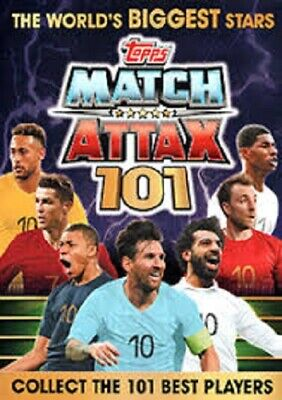 Match Attax 101 2018/2019 18/19 bundle of 10 cards