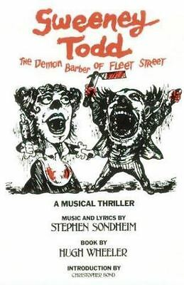 Sweeney Todd: The Demon Barber of Fleet Street (Applause Musical Library) by