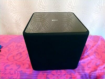 KEF kube 1 active powered subwoofer