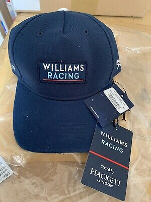 Williams Racing Cap Navy, New with tags. by Hackett London BNWT