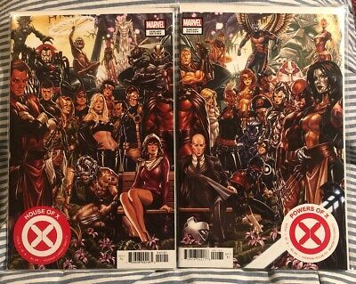 House of X & Powers of X #1   Mark Brooks Connecting Variant Set