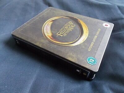 Lord of the Rings Fellowship of the Ring Extended Edition SteelBook Blu Ray