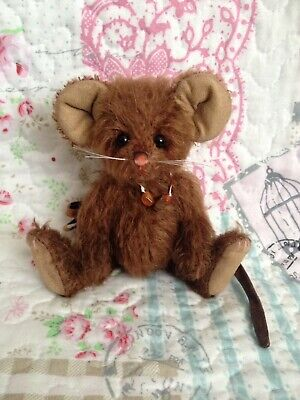 Charlie Bears Hiccup Mouse ~ 2013 Minimo Bear ~ Sold Out & Retired
