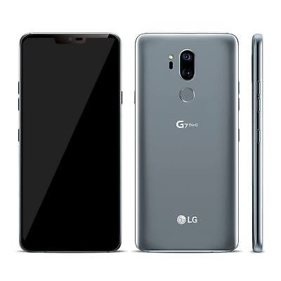 LG G7 ThinQ 64GB Smartphone (Factory Unlocked) - Platinum Grey 9/10 White Spot